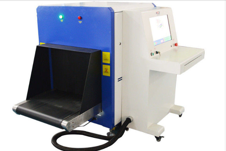 Oil Cooling Airport Baggage Scanner , Security Scanning Equipment With 650 X 500mm Tunnel